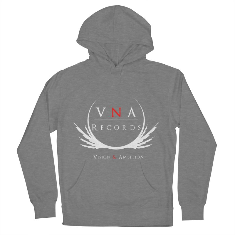 VNA Records Tee Black Women's French Terry Pullover Hoody by foulal's Artist Shop