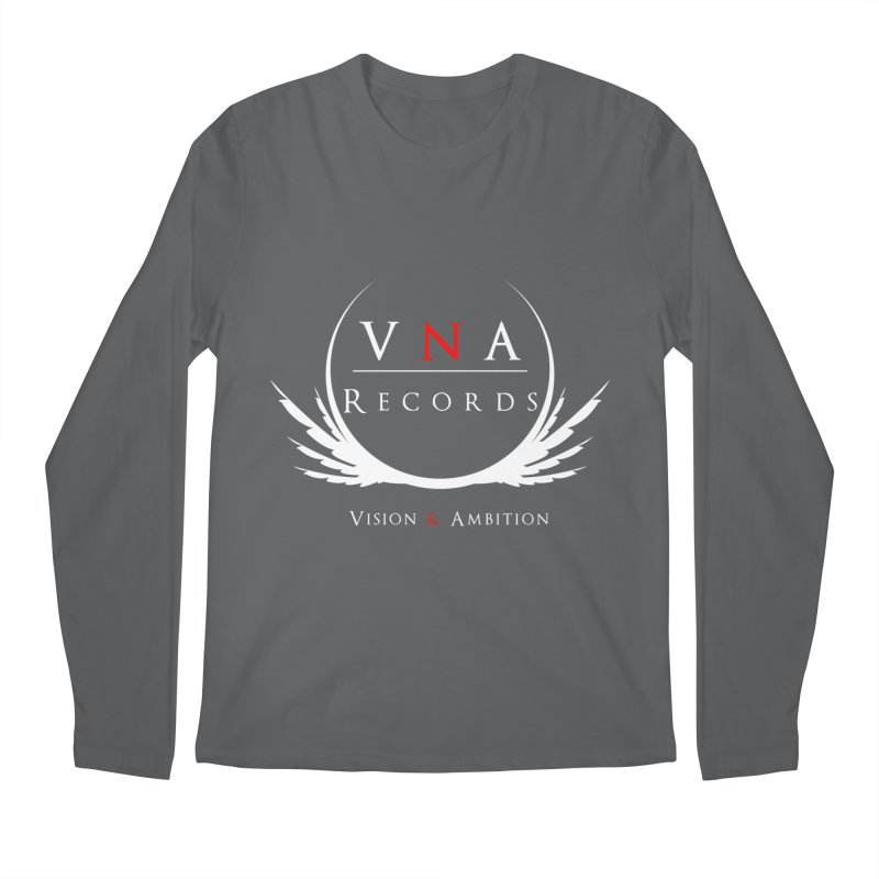 VNA Records Tee Black Men's Longsleeve T-Shirt by foulal's Artist Shop