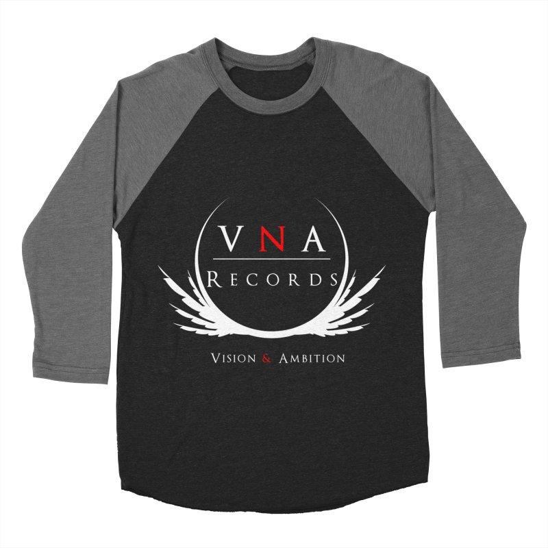 VNA Records Tee Black Women's Baseball Triblend Longsleeve T-Shirt by foulal's Artist Shop