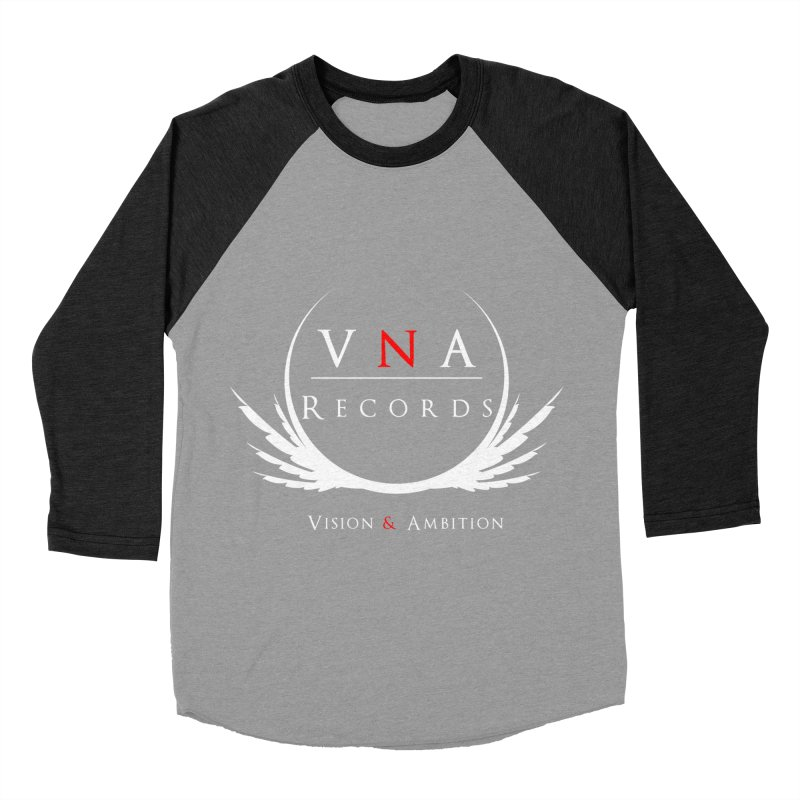 VNA Records Tee Black Women's Baseball Triblend Longsleeve T-Shirt by foulal's Artist Shop