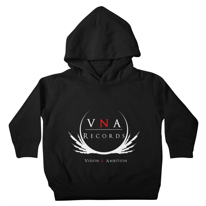 VNA Records Tee Black Kids Toddler Pullover Hoody by foulal's Artist Shop