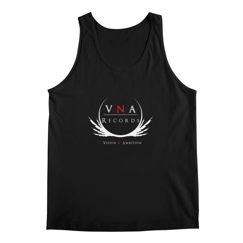 VNA Records Tee Black Men's Regular Tank by foulal's Artist Shop