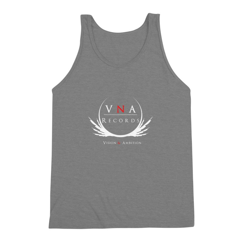 VNA Records Tee Black Men's Triblend Tank by foulal's Artist Shop