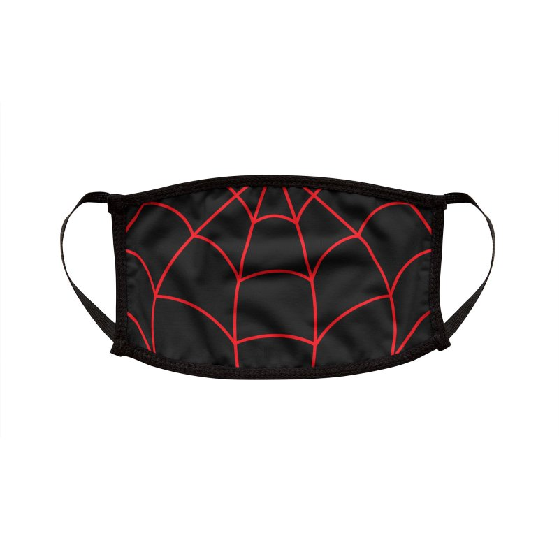 Morales Spider Accessories Face Mask by foureyedesign shop