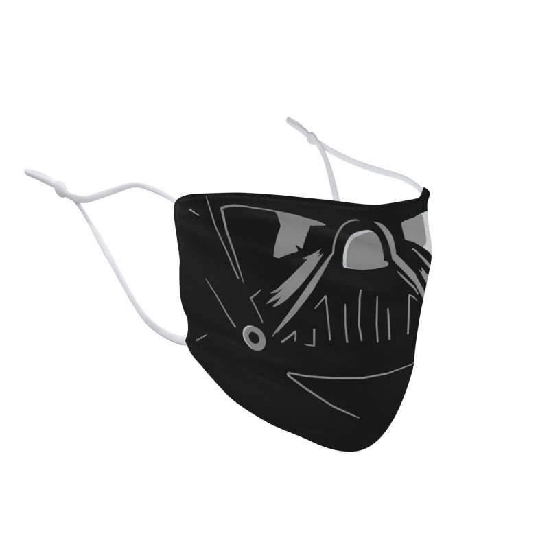 Dark Side Accessories Face Mask by foureyedesign shop