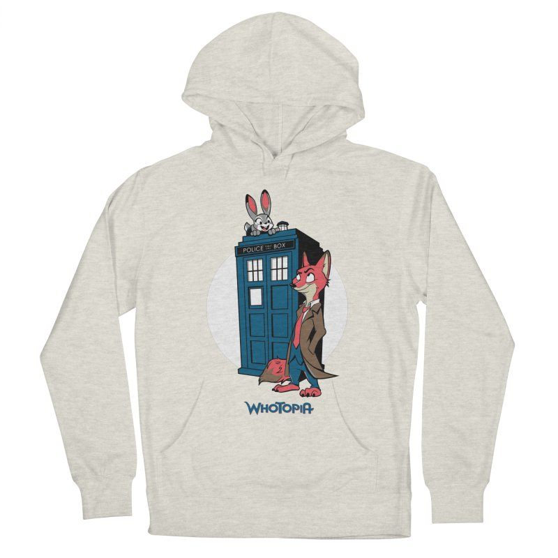Whotopia Men's Pullover Hoody by foureyedesign's shop