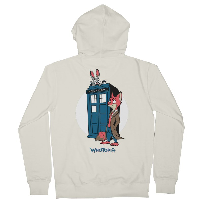 Whotopia Women's Zip-Up Hoody by foureyedesign's shop