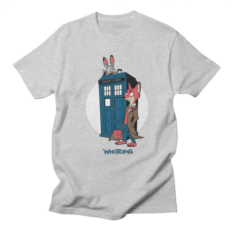 Whotopia Men's T-shirt by foureyedesign's shop