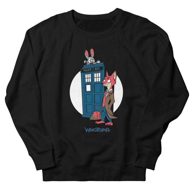 Whotopia Women's French Terry Sweatshirt by foureyedesign's shop