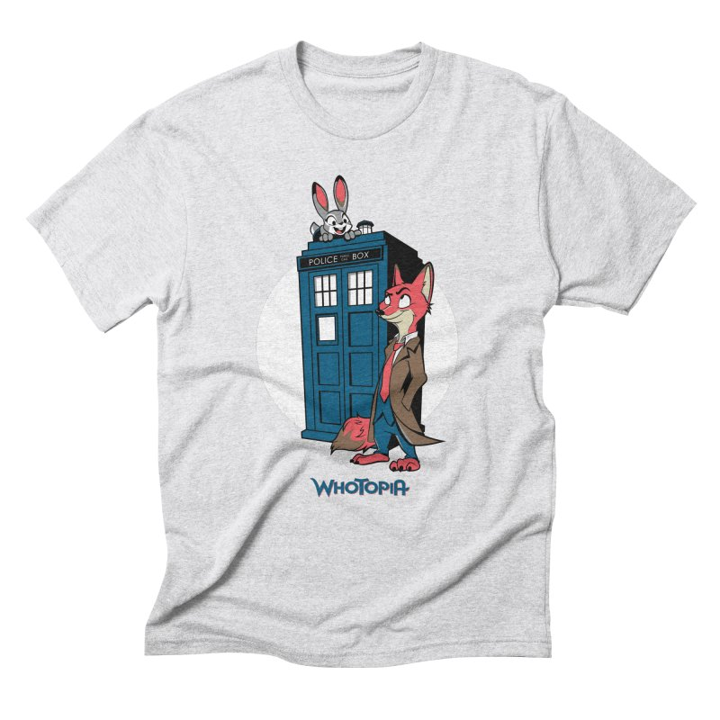 Whotopia Men's Triblend T-shirt by foureyedesign's shop