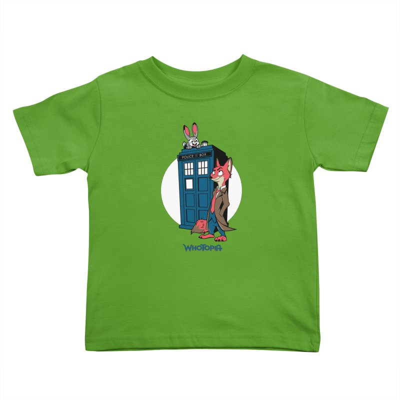 Whotopia Kids Toddler T-Shirt by foureyedesign shop
