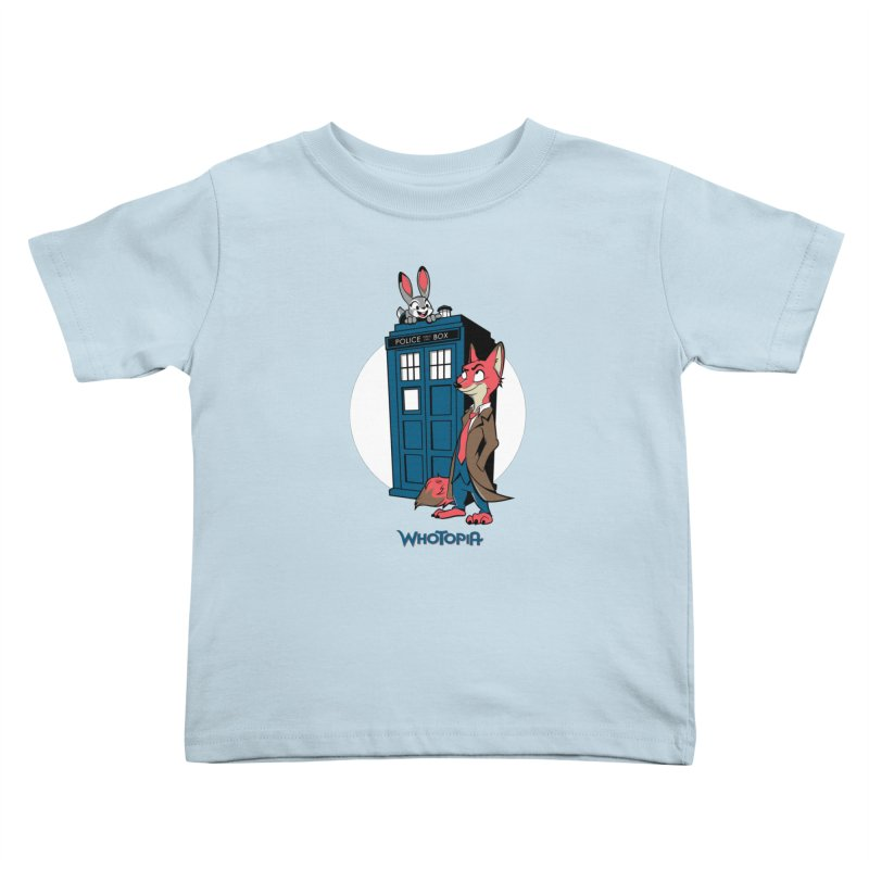 Whotopia Kids Toddler T-Shirt by foureyedesign's shop