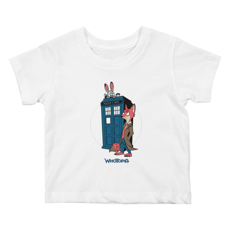 Whotopia Kids Baby T-Shirt by foureyedesign's shop