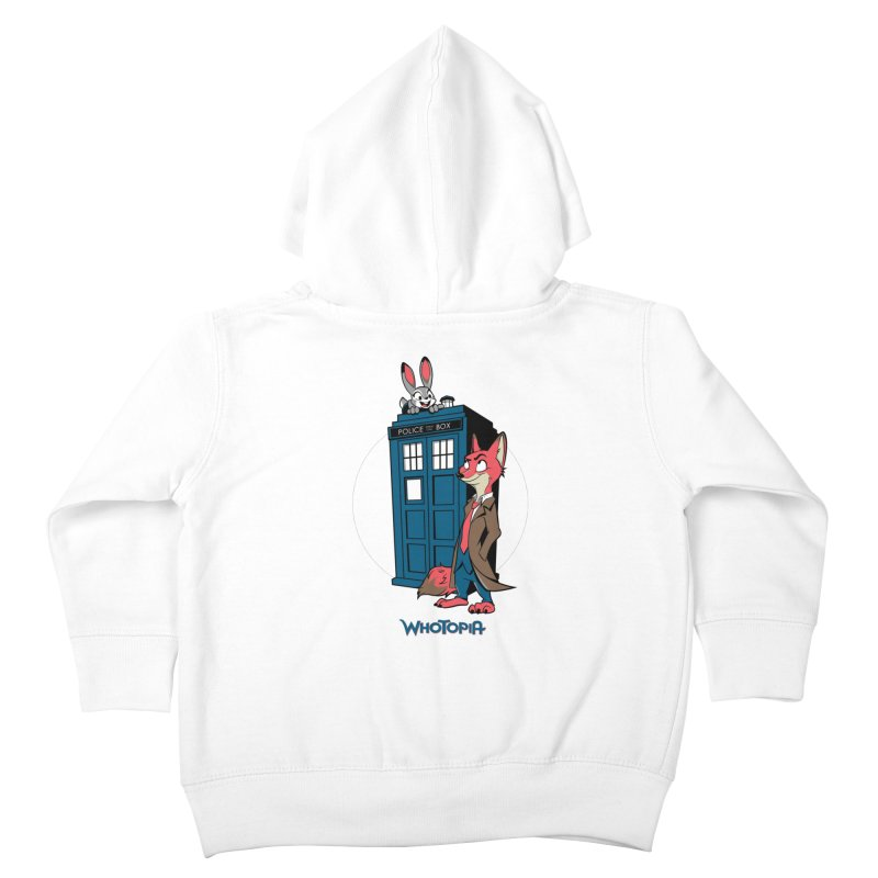 Whotopia Kids Toddler Zip-Up Hoody by foureyedesign's shop