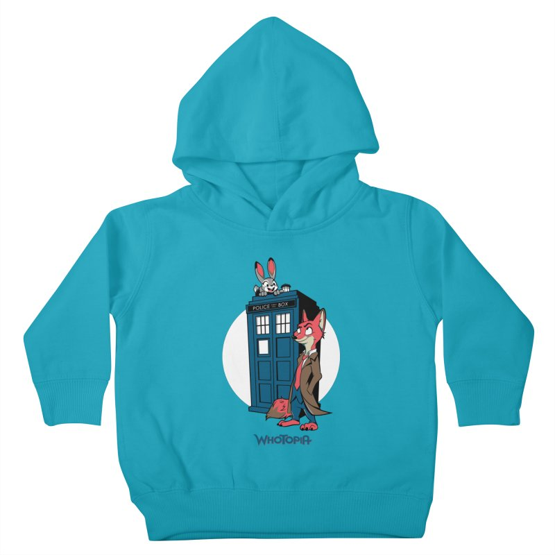 Whotopia Kids Toddler Pullover Hoody by foureyedesign's shop