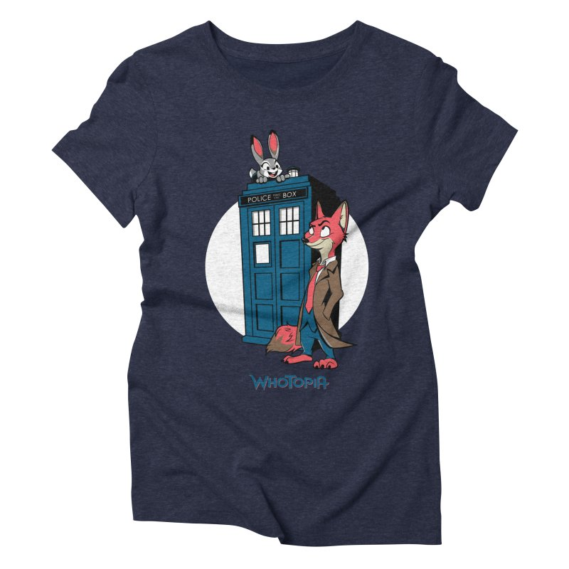 Whotopia Women's Triblend T-shirt by foureyedesign's shop