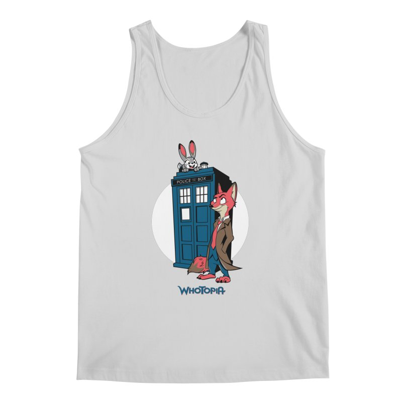 Whotopia Men's Tank by foureyedesign's shop