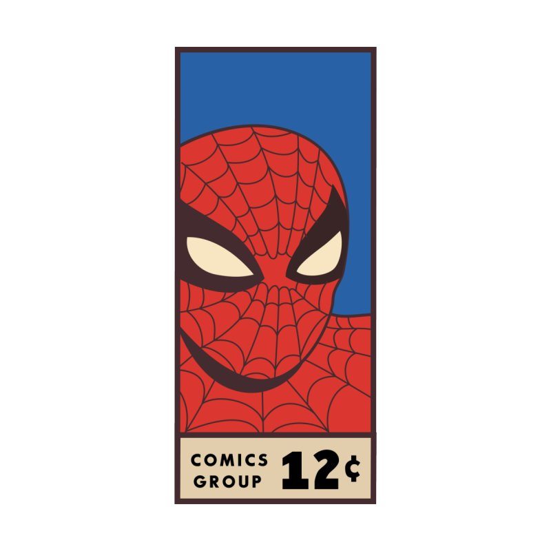 Spidey Comic Banner 1 Accessories Face Mask by foureyedesign shop