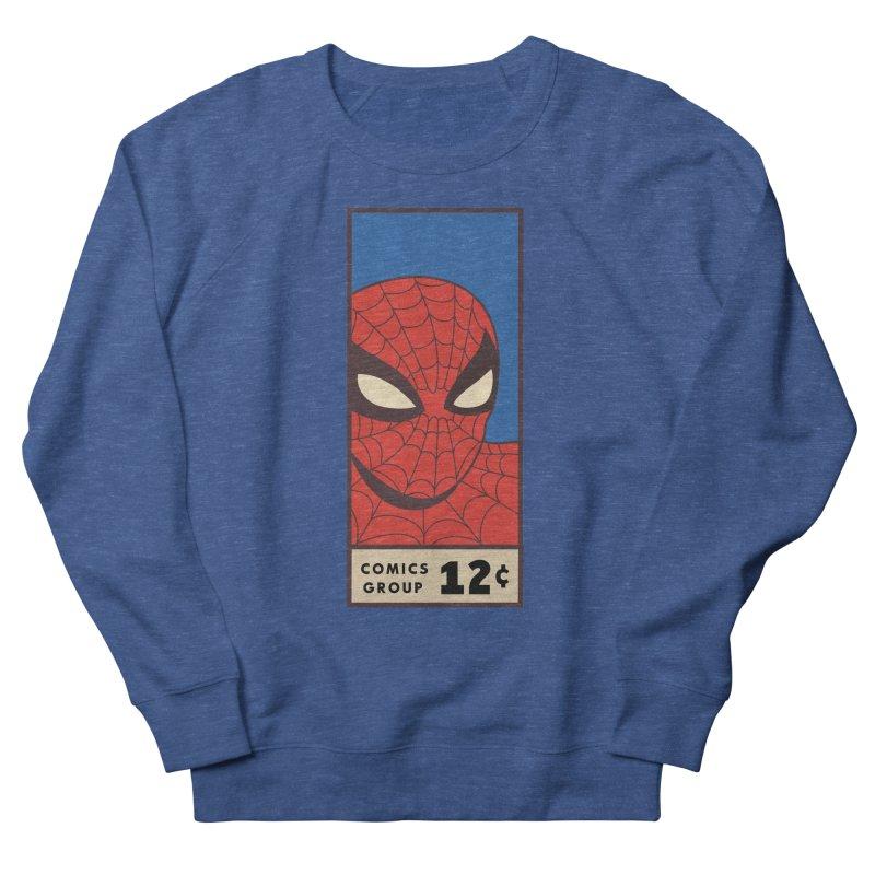 Spidey Comic Banner 1 Men's Sweatshirt by foureyedesign shop