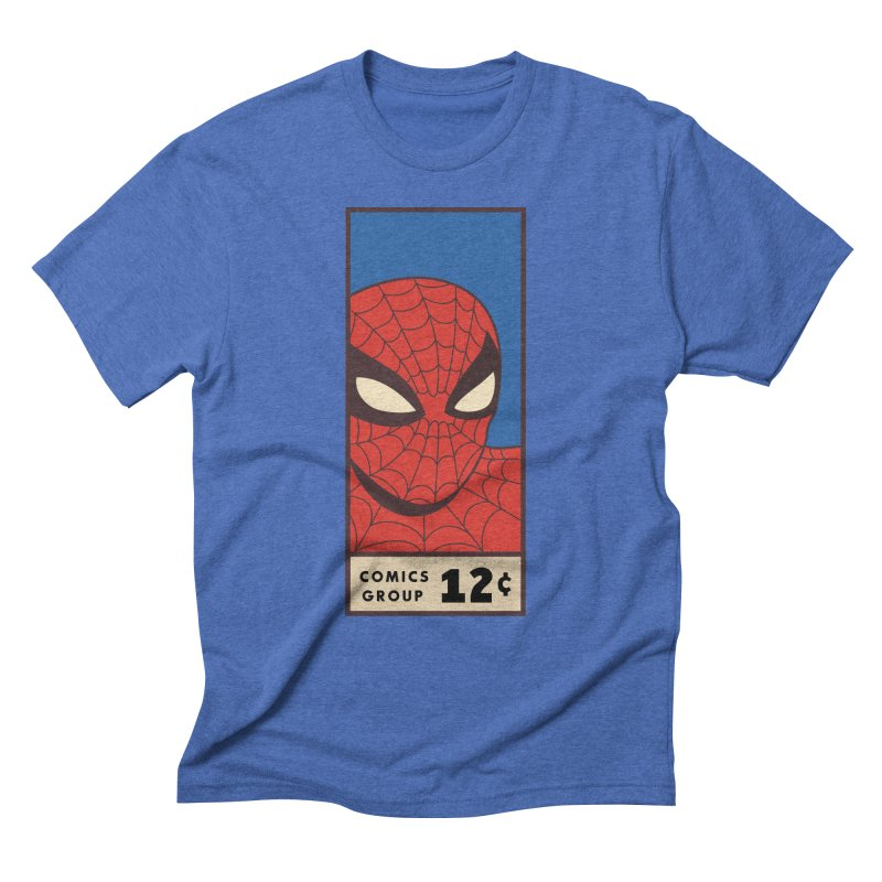 Spidey Comic Banner 1 Men's T-Shirt by foureyedesign shop