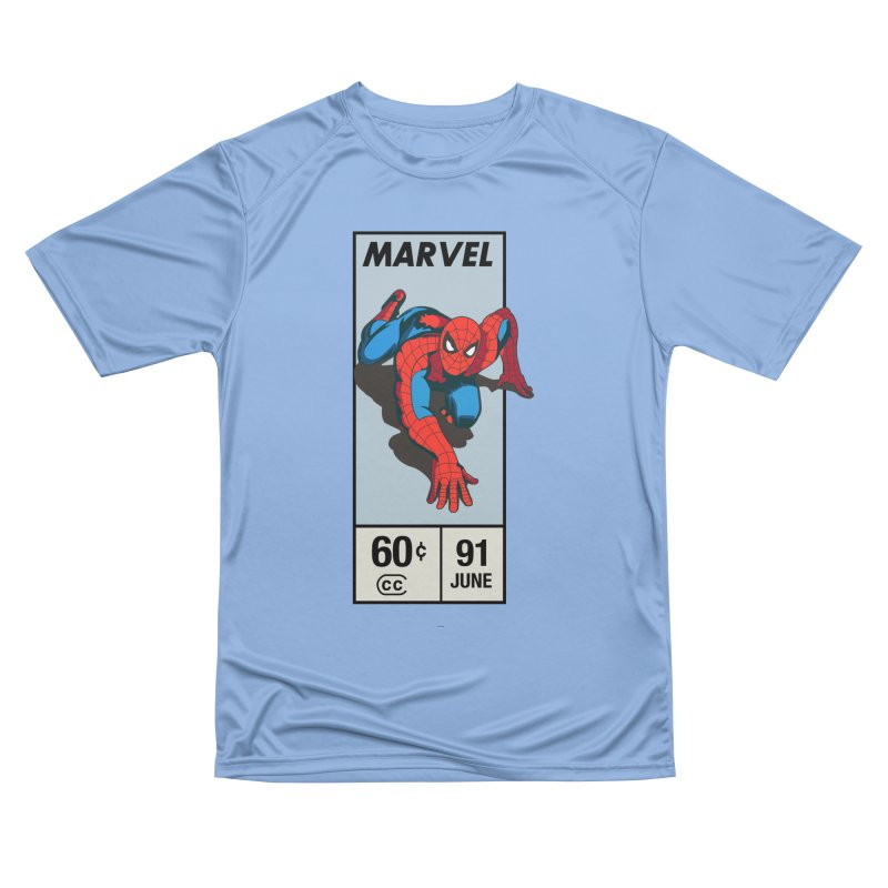 Spidey Comic Banner 2 Women's T-Shirt by foureyedesign shop
