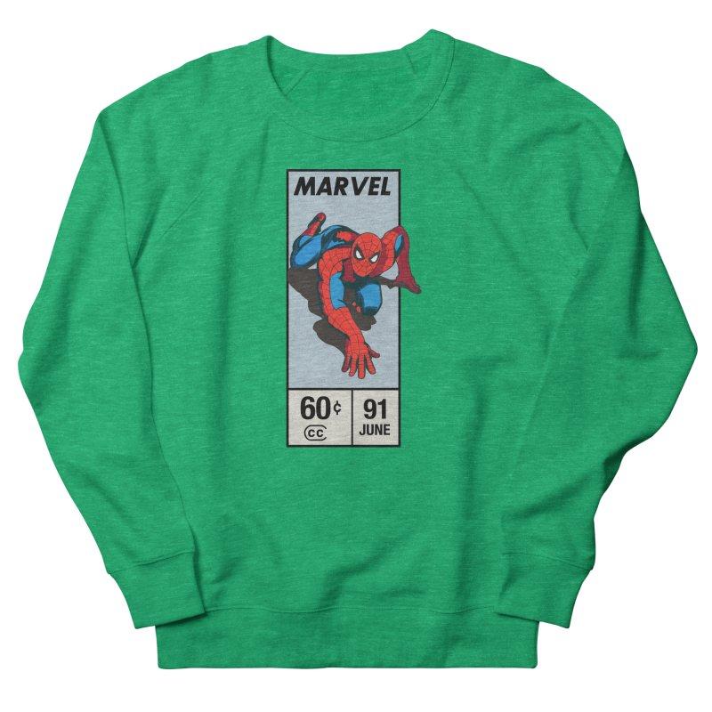 Spidey Comic Banner 2 Women's Sweatshirt by foureyedesign shop
