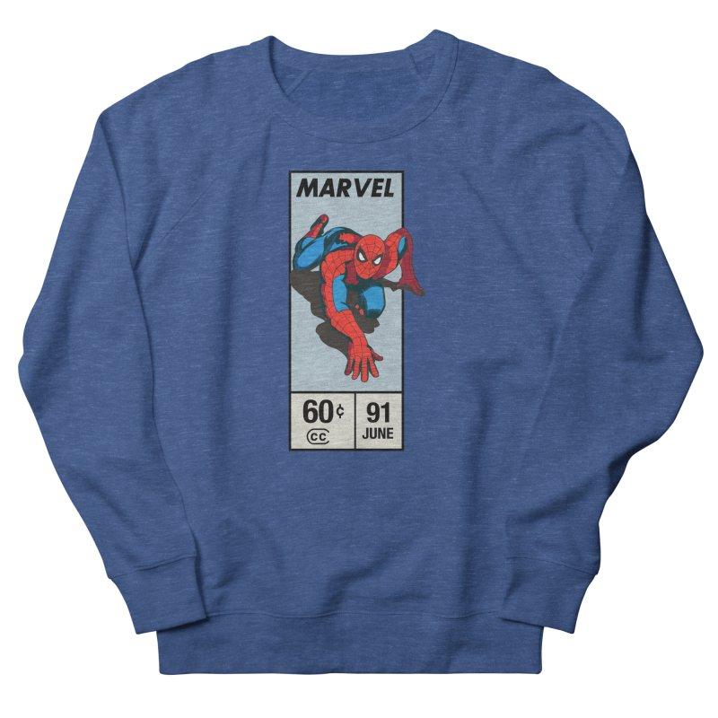 Spidey Comic Banner 2 Men's Sweatshirt by foureyedesign shop