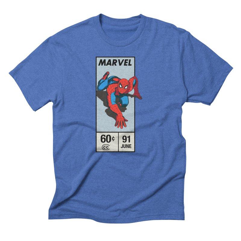 Spidey Comic Banner 2 Men's T-Shirt by foureyedesign shop