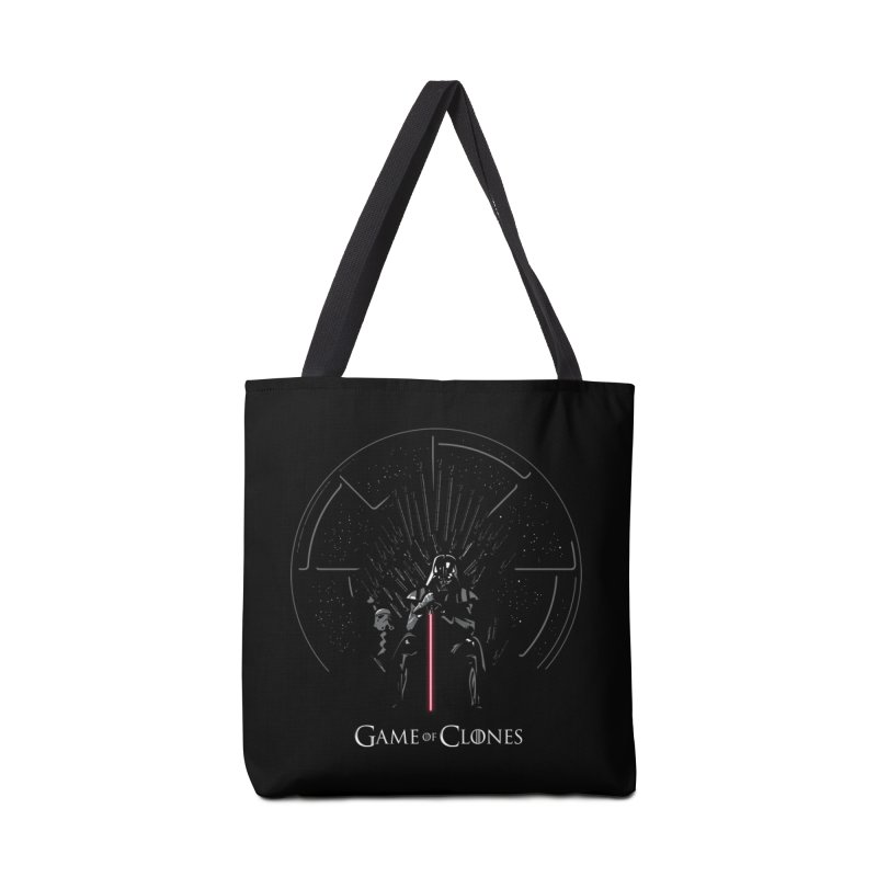 Game of Clones Accessories Bag by foureyedesign's shop