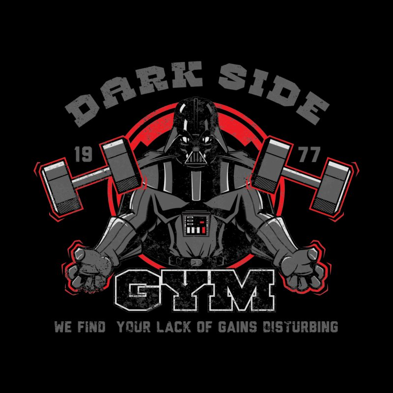 Dark Side Gym Men's V-Neck by foureyedesign shop