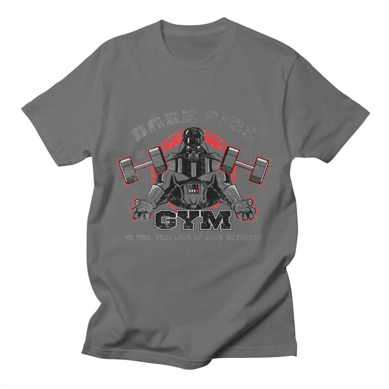 Dark Side Gym Men's T-Shirt by foureyedesign shop