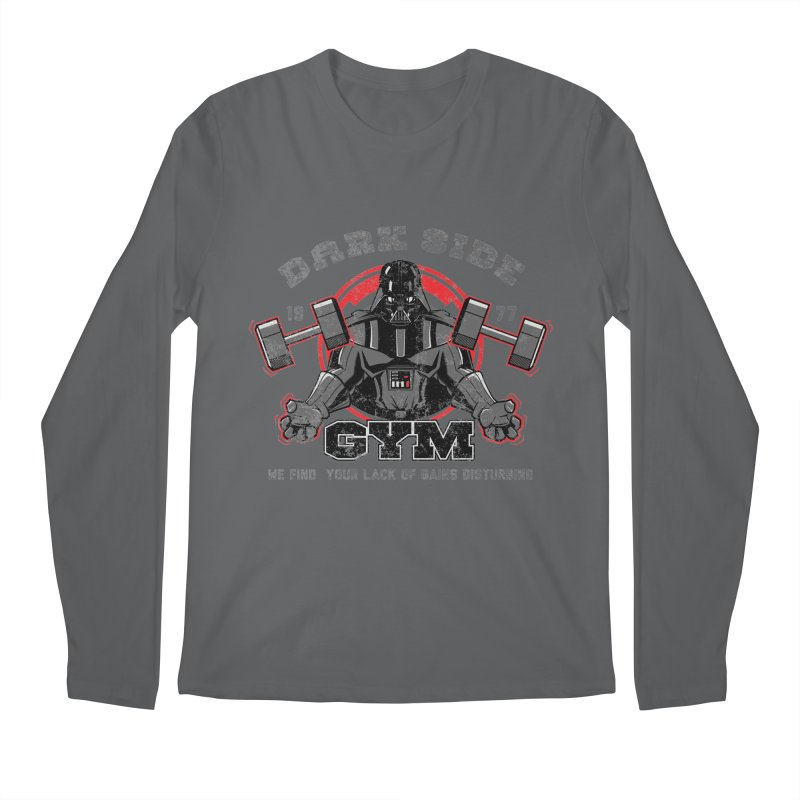 Dark Side Gym Men's Longsleeve T-Shirt by foureyedesign shop