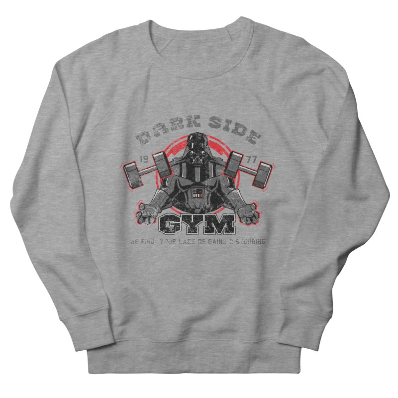 Dark Side Gym Women's Sweatshirt by foureyedesign's shop