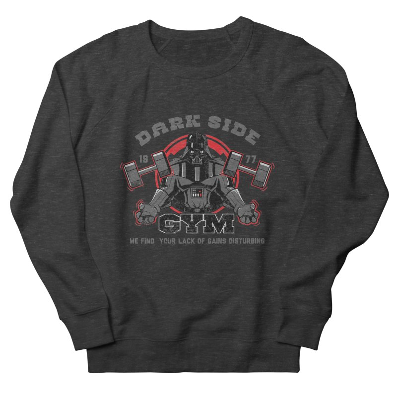 Dark Side Gym Men's Sweatshirt by foureyedesign's shop