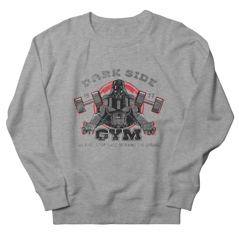 Dark Side Gym Men's Sweatshirt by foureyedesign's shop