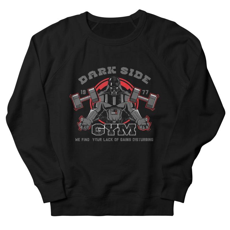 Dark Side Gym Men's French Terry Sweatshirt by foureyedesign's shop