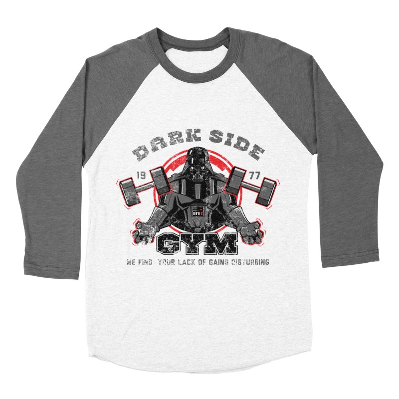 Dark Side Gym Women's Baseball Triblend T-Shirt by foureyedesign's shop