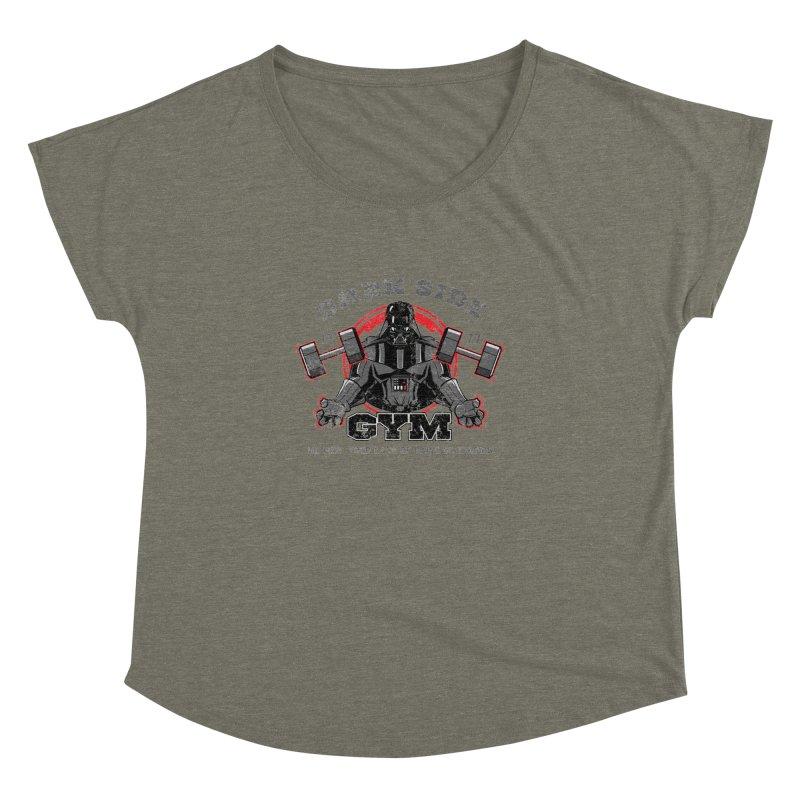 Dark Side Gym Women's Dolman by foureyedesign's shop