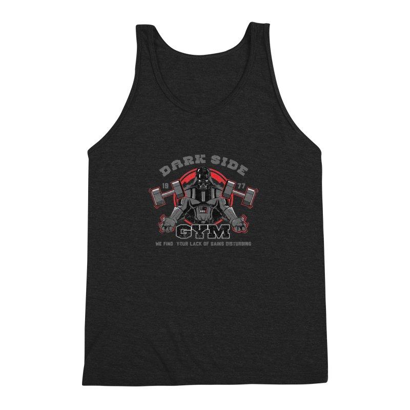 Dark Side Gym Men's Triblend Tank by foureyedesign's shop