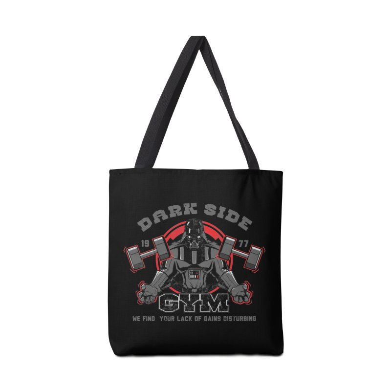 Dark Side Gym Accessories Bag by foureyedesign's shop