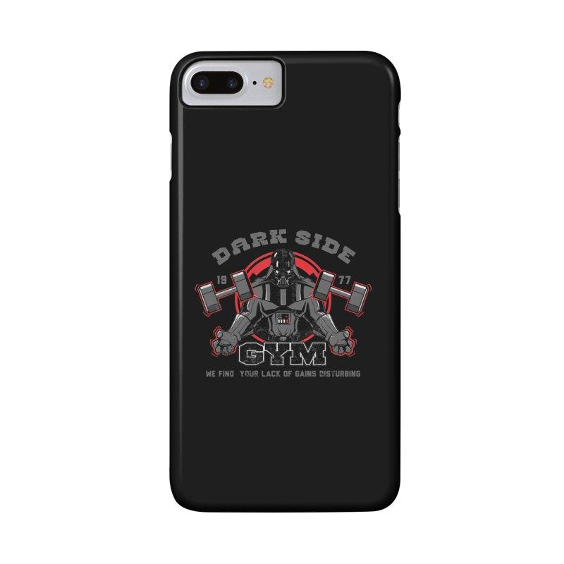 Dark Side Gym Accessories Phone Case by foureyedesign's shop