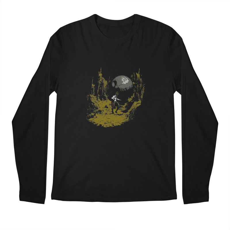 Raiders of the Galactic Empire Men's Longsleeve T-Shirt by foureyedesign's shop