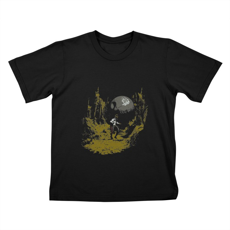 Raiders of the Galactic Empire Kids T-Shirt by foureyedesign's shop