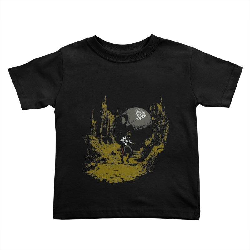 Raiders of the Galactic Empire Kids Toddler T-Shirt by foureyedesign shop