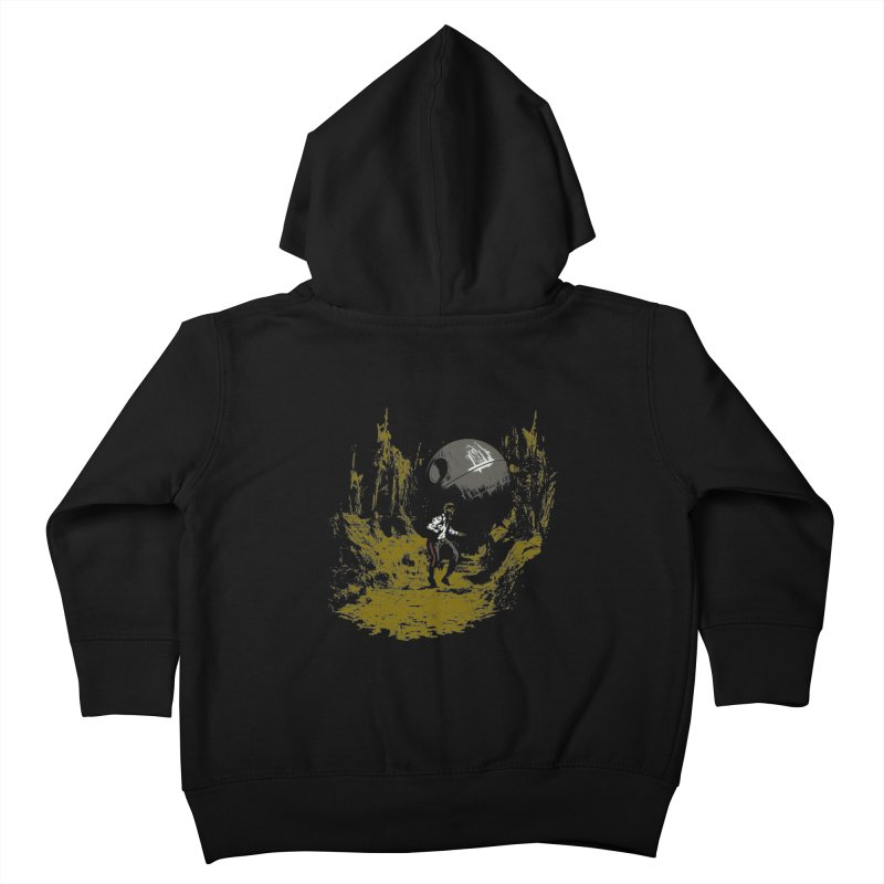 Raiders of the Galactic Empire Kids Toddler Zip-Up Hoody by foureyedesign's shop