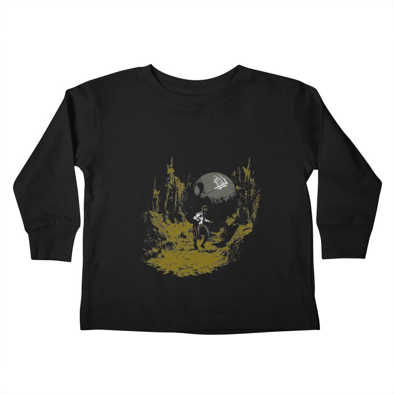 Raiders of the Galactic Empire Kids Toddler Longsleeve T-Shirt by foureyedesign's shop