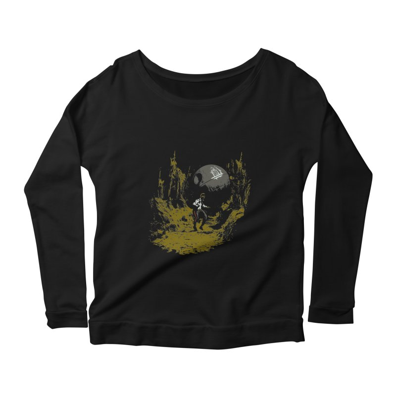 Raiders of the Galactic Empire Women's Longsleeve Scoopneck  by foureyedesign's shop