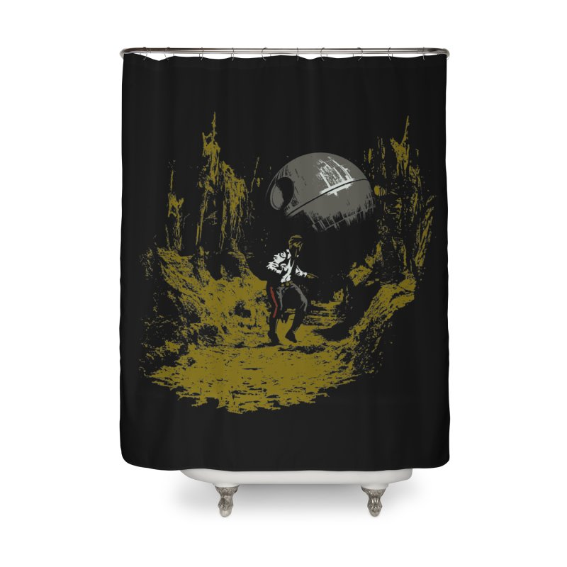 Raiders of the Galactic Empire Home Shower Curtain by foureyedesign's shop