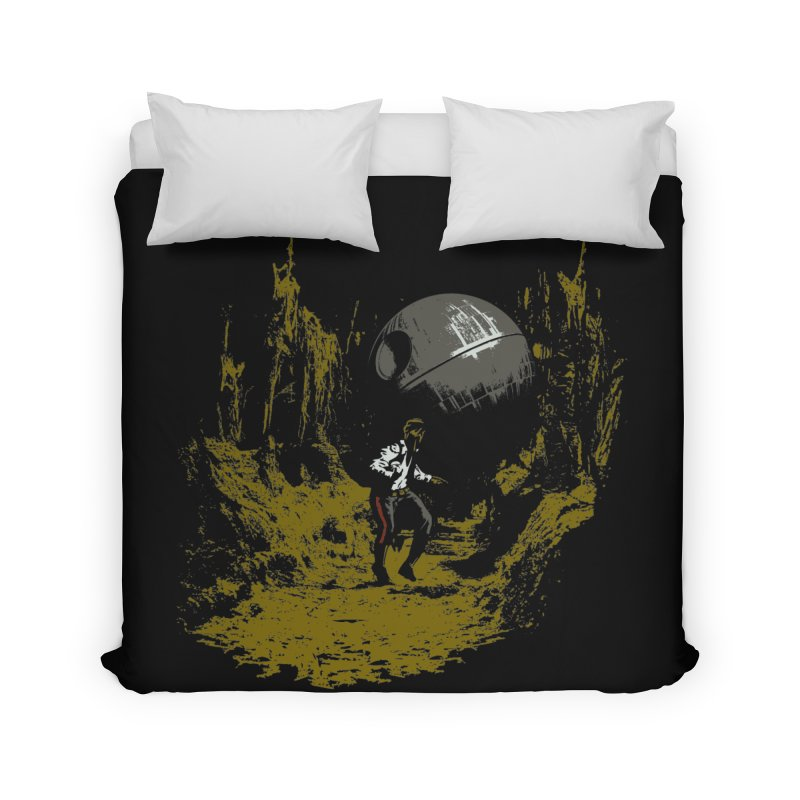 Raiders of the Galactic Empire Home Duvet by foureyedesign's shop