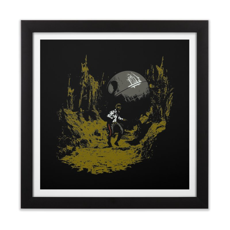Raiders of the Galactic Empire Home Framed Fine Art Print by foureyedesign's shop